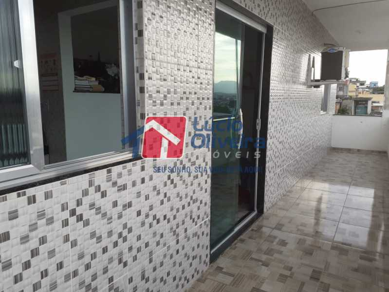 14 varanda. - Apartamento à venda Rua Orica,Braz de Pina, Rio de Janeiro - R$ 130.000 - VPAP10139 - 15