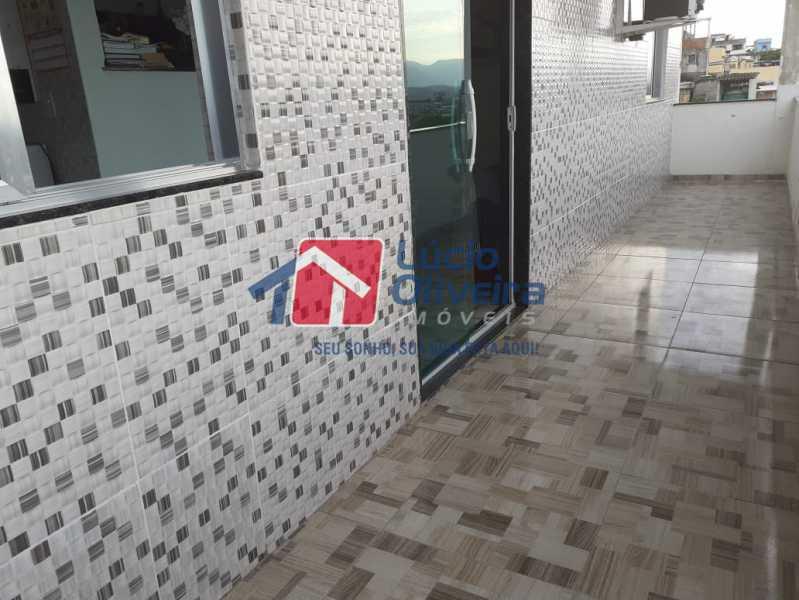 15 varanda. - Apartamento à venda Rua Orica,Braz de Pina, Rio de Janeiro - R$ 130.000 - VPAP10139 - 16