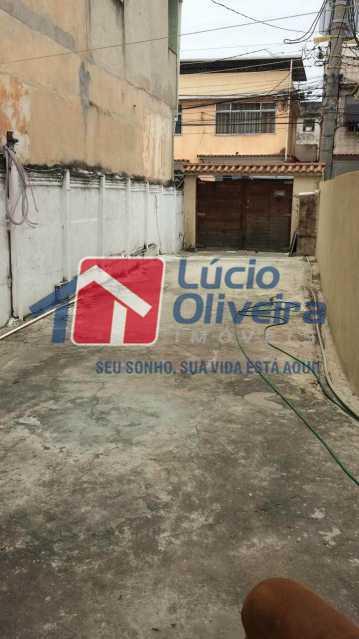 1 Area externa - Casa Travessa Costa Mendes,Ramos, Rio de Janeiro, RJ À Venda, 3 Quartos, 58m² - VPCA30178 - 1