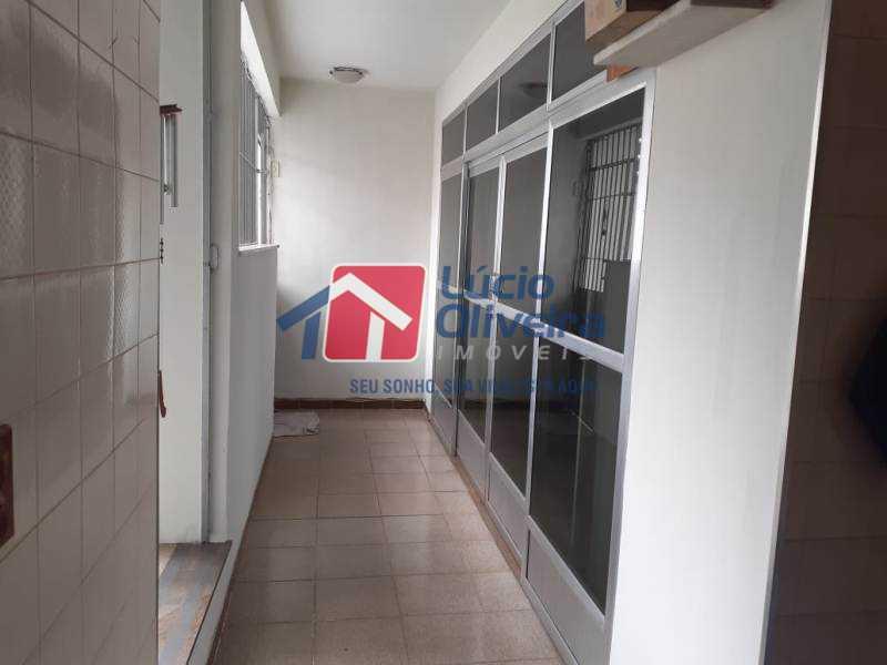 5-Varanda - Casa à venda Rua Iricume,Braz de Pina, Rio de Janeiro - R$ 400.000 - VPCA40056 - 6