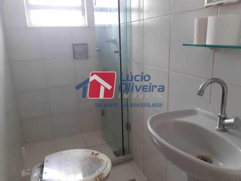 15-Banheiro social - Casa à venda Rua Iricume,Braz de Pina, Rio de Janeiro - R$ 400.000 - VPCA40056 - 16
