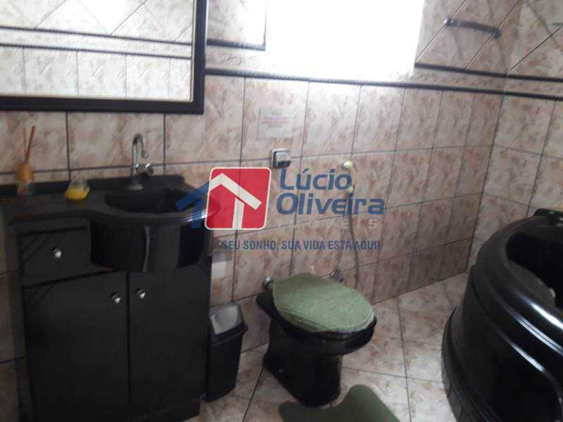 17-Banheiro suite terraço - Casa à venda Rua Iricume,Braz de Pina, Rio de Janeiro - R$ 400.000 - VPCA40056 - 19