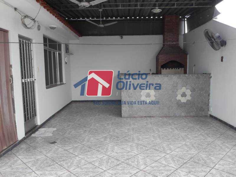 19-Churrasqueira - Casa à venda Rua Iricume,Braz de Pina, Rio de Janeiro - R$ 400.000 - VPCA40056 - 21