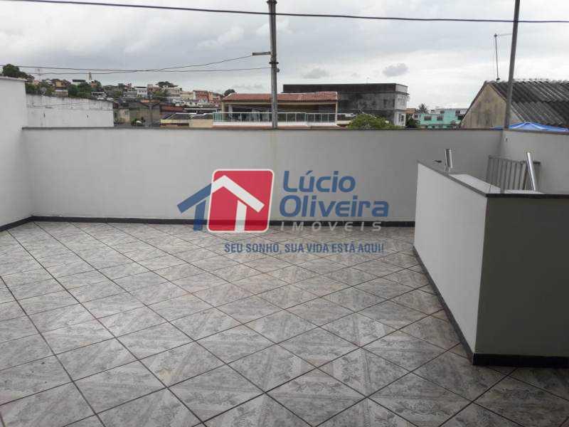 21-Terraço - Casa à venda Rua Iricume,Braz de Pina, Rio de Janeiro - R$ 400.000 - VPCA40056 - 22