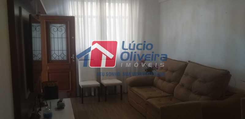 03 - Sala - Casa Rua Gilberto Goulart de Andrade,Vila da Penha, Rio de Janeiro, RJ À Venda, 3 Quartos, 194m² - VPCA30180 - 3