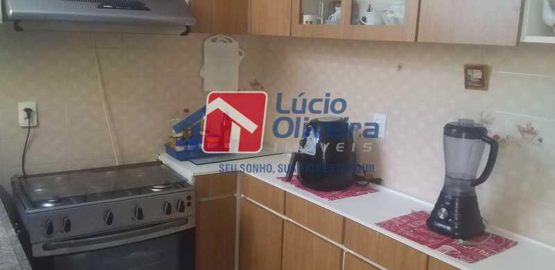 11 - Cozinha - Casa Rua Gilberto Goulart de Andrade,Vila da Penha, Rio de Janeiro, RJ À Venda, 3 Quartos, 194m² - VPCA30180 - 7