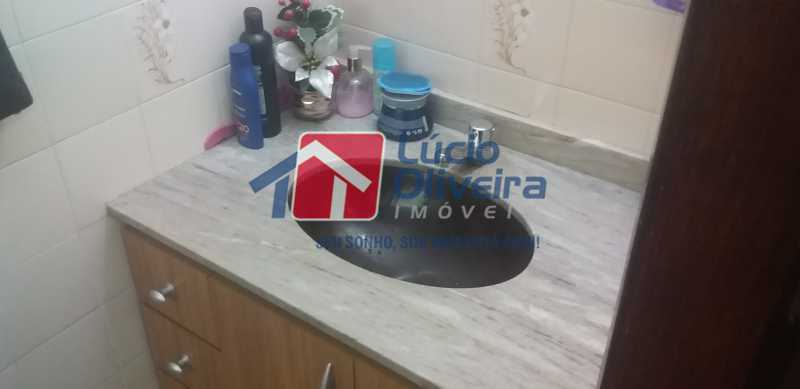 15 - Lavabo - Casa Rua Gilberto Goulart de Andrade,Vila da Penha, Rio de Janeiro, RJ À Venda, 3 Quartos, 194m² - VPCA30180 - 8