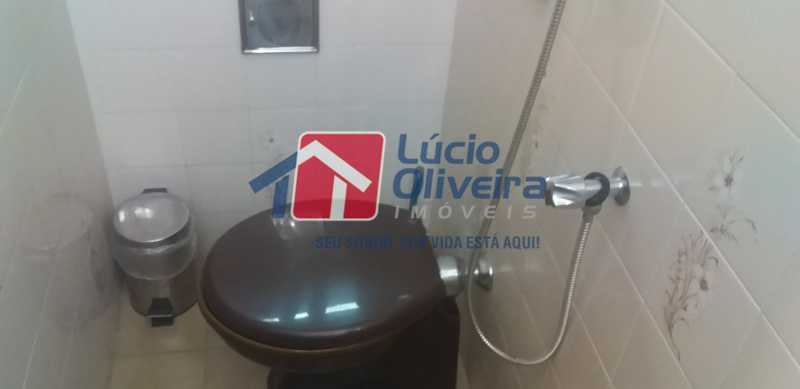 16 - Lavabo - Casa Rua Gilberto Goulart de Andrade,Vila da Penha, Rio de Janeiro, RJ À Venda, 3 Quartos, 194m² - VPCA30180 - 9