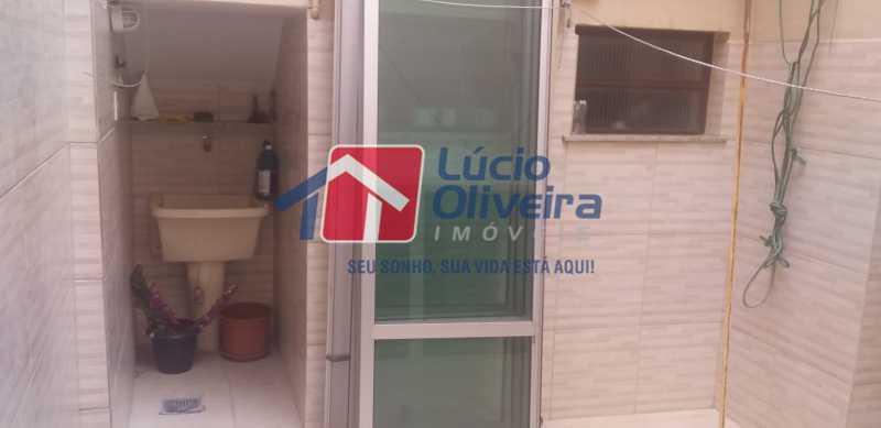 20 - Área Independente - Casa Rua Gilberto Goulart de Andrade,Vila da Penha, Rio de Janeiro, RJ À Venda, 3 Quartos, 194m² - VPCA30180 - 12