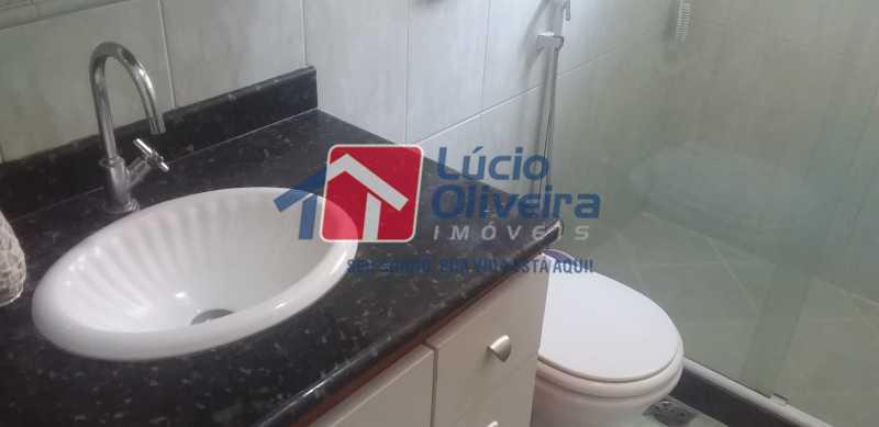 35 - Banheiro Social - Casa Rua Gilberto Goulart de Andrade,Vila da Penha, Rio de Janeiro, RJ À Venda, 3 Quartos, 194m² - VPCA30180 - 23