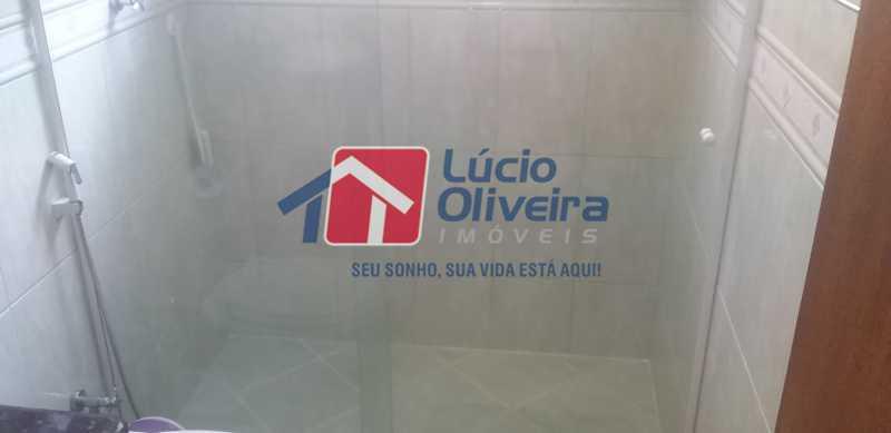 36 - Banheiro Social - Casa Rua Gilberto Goulart de Andrade,Vila da Penha, Rio de Janeiro, RJ À Venda, 3 Quartos, 194m² - VPCA30180 - 24