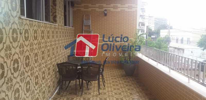 41 - Varanda - Casa Rua Gilberto Goulart de Andrade,Vila da Penha, Rio de Janeiro, RJ À Venda, 3 Quartos, 194m² - VPCA30180 - 28