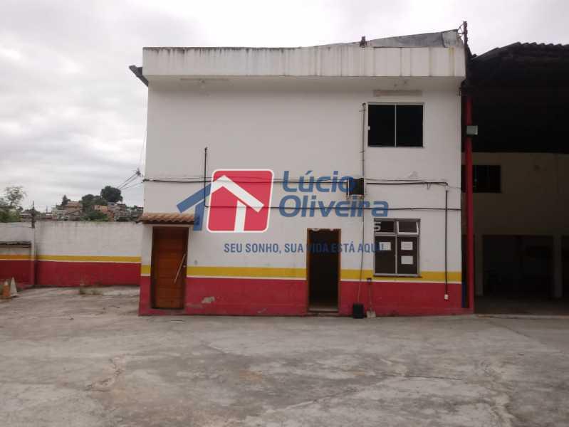 01 - Galpão 514m² para venda e aluguel Rua Jaboti,Braz de Pina, Rio de Janeiro - R$ 1.650.000 - VPGA00012 - 1