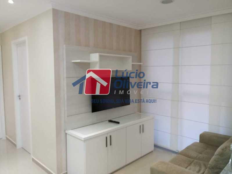 1- Sala - Apartamento à venda Avenida Pastor Martin Luther King Jr,Vila da Penha, Rio de Janeiro - R$ 260.000 - VPAP21294 - 3