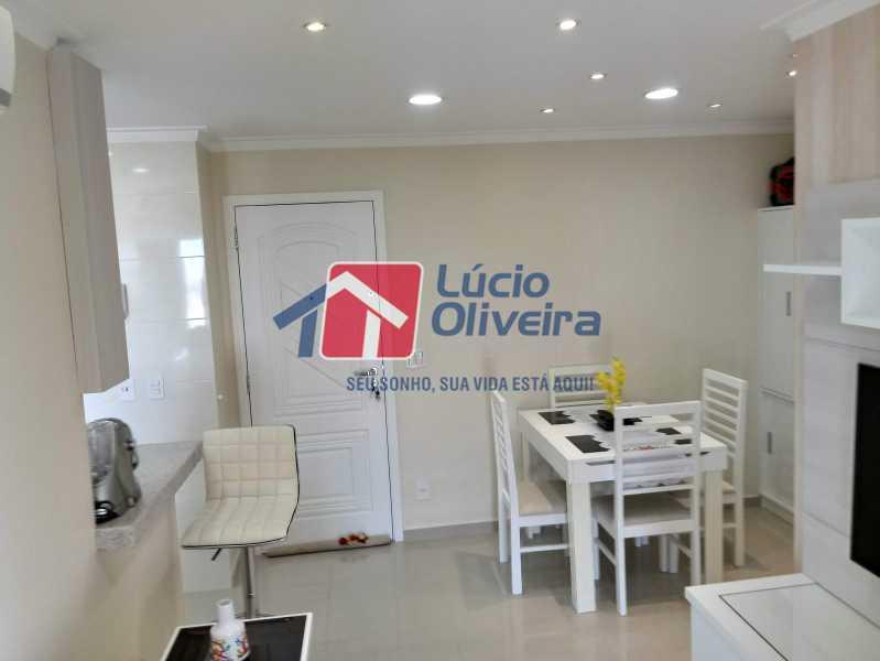 02- Sala - Apartamento à venda Avenida Pastor Martin Luther King Jr,Vila da Penha, Rio de Janeiro - R$ 260.000 - VPAP21294 - 4