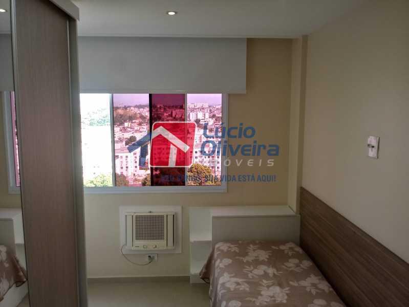 06- Quarto C. - Apartamento à venda Avenida Pastor Martin Luther King Jr,Vila da Penha, Rio de Janeiro - R$ 260.000 - VPAP21294 - 7