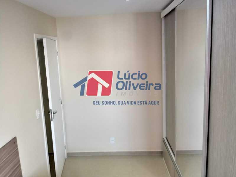 07- Quarto C. - Apartamento à venda Avenida Pastor Martin Luther King Jr,Vila da Penha, Rio de Janeiro - R$ 260.000 - VPAP21294 - 8