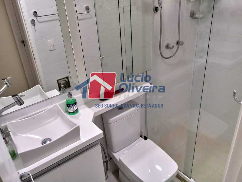 10- Banheiro S. - Apartamento à venda Avenida Pastor Martin Luther King Jr,Vila da Penha, Rio de Janeiro - R$ 260.000 - VPAP21294 - 11