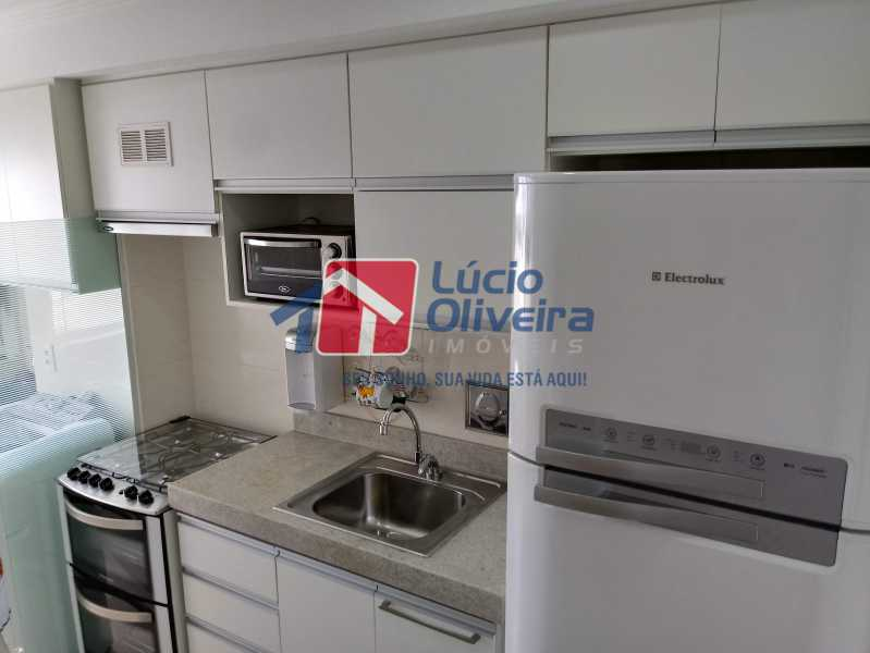 11- Cozinha - Apartamento à venda Avenida Pastor Martin Luther King Jr,Vila da Penha, Rio de Janeiro - R$ 260.000 - VPAP21294 - 12