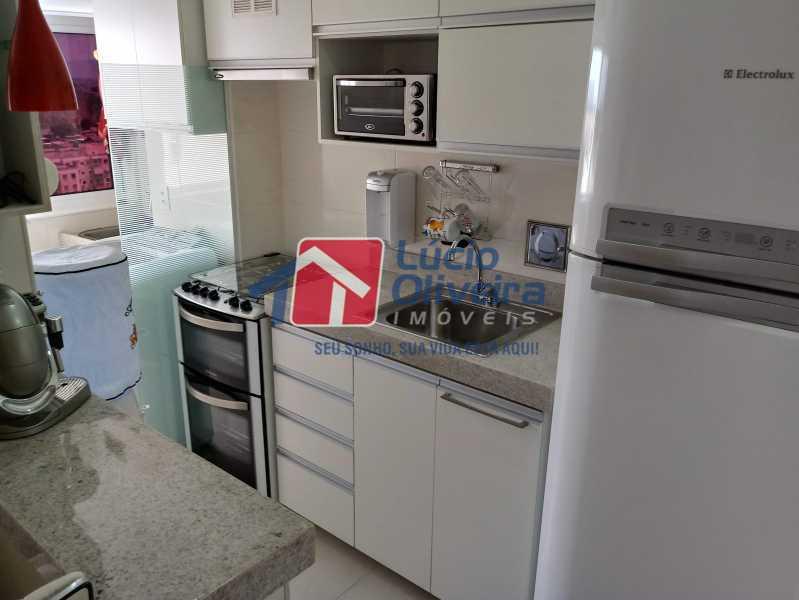 12- Cozinha - Apartamento à venda Avenida Pastor Martin Luther King Jr,Vila da Penha, Rio de Janeiro - R$ 260.000 - VPAP21294 - 13