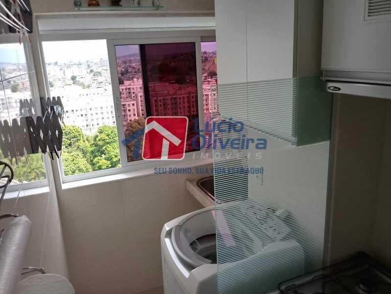13 - Cozinha - Apartamento à venda Avenida Pastor Martin Luther King Jr,Vila da Penha, Rio de Janeiro - R$ 260.000 - VPAP21294 - 14
