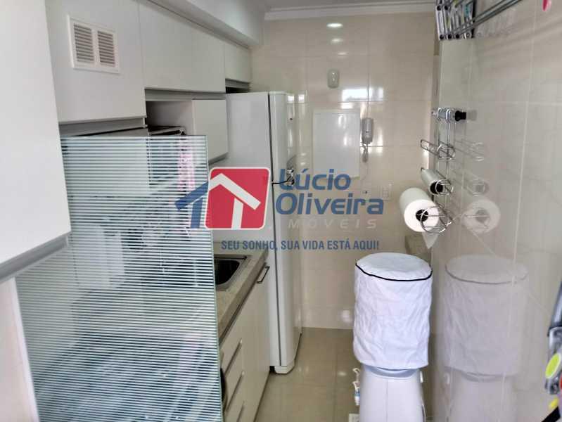 14- Cozinha - Apartamento à venda Avenida Pastor Martin Luther King Jr,Vila da Penha, Rio de Janeiro - R$ 260.000 - VPAP21294 - 15