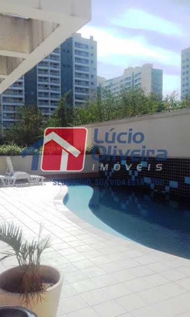 19- Piscina - Apartamento à venda Avenida Pastor Martin Luther King Jr,Vila da Penha, Rio de Janeiro - R$ 260.000 - VPAP21294 - 20