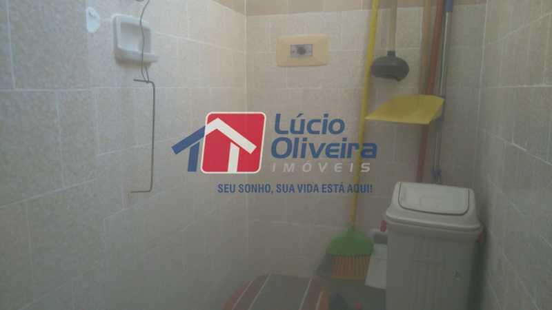 12 BANHEIRO EMPREGADA - Apartamento à venda Rua Montevidéu,Penha, Rio de Janeiro - R$ 170.000 - VPAP21299 - 16