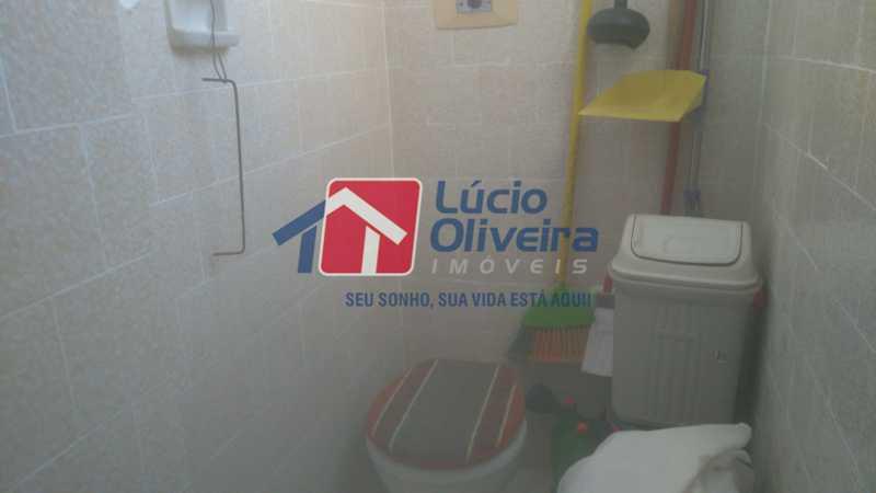 13 BANHEIRO EMPREGADA - Apartamento à venda Rua Montevidéu,Penha, Rio de Janeiro - R$ 170.000 - VPAP21299 - 17