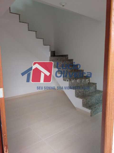 3-Sala e acesso 2 piso - Casa Rua Major Rego,Olaria, Rio de Janeiro, RJ À Venda, 2 Quartos, 74m² - VPCA20253 - 5