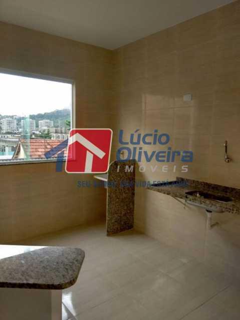 7-Cozinha e area - Casa Rua Major Rego,Olaria, Rio de Janeiro, RJ À Venda, 2 Quartos, 74m² - VPCA20253 - 9