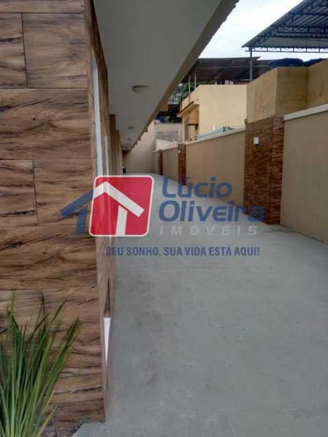 16-  Area Lateral - Casa Rua Major Rego,Olaria, Rio de Janeiro, RJ À Venda, 2 Quartos, 74m² - VPCA20253 - 17