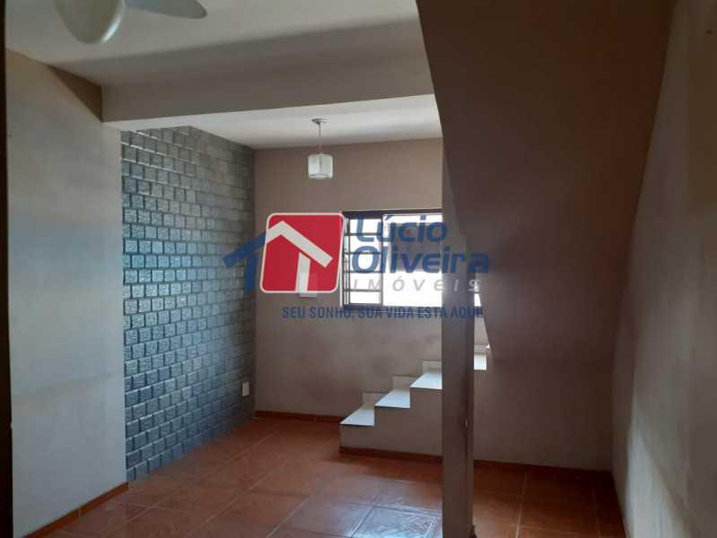 02- Sala - Casa Rua Severiano Monteiro,Vista Alegre, Rio de Janeiro, RJ À Venda, 2 Quartos, 100m² - VPCA20254 - 3