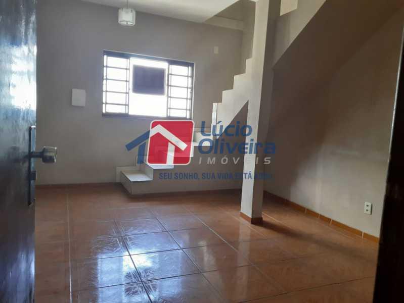 03- Sala - Casa Rua Severiano Monteiro,Vista Alegre, Rio de Janeiro, RJ À Venda, 2 Quartos, 100m² - VPCA20254 - 4