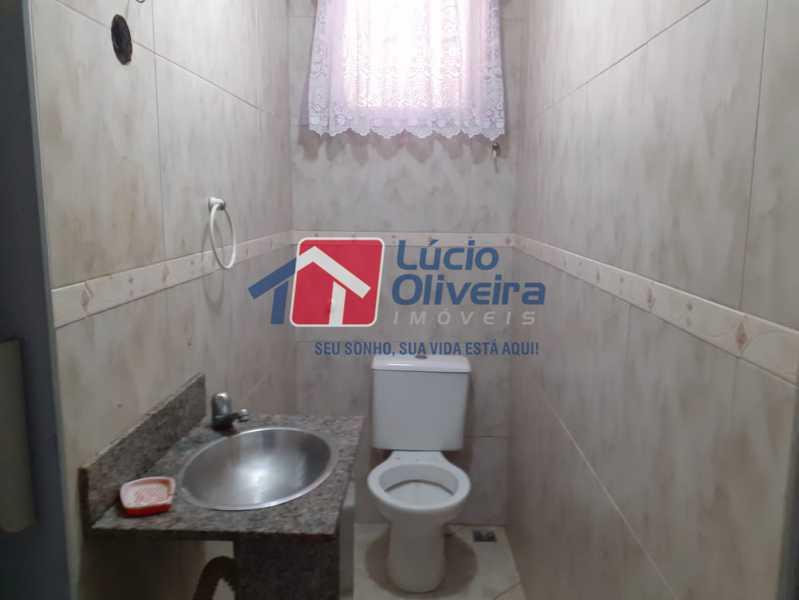 04- Lavabo - Casa Rua Severiano Monteiro,Vista Alegre, Rio de Janeiro, RJ À Venda, 2 Quartos, 100m² - VPCA20254 - 5