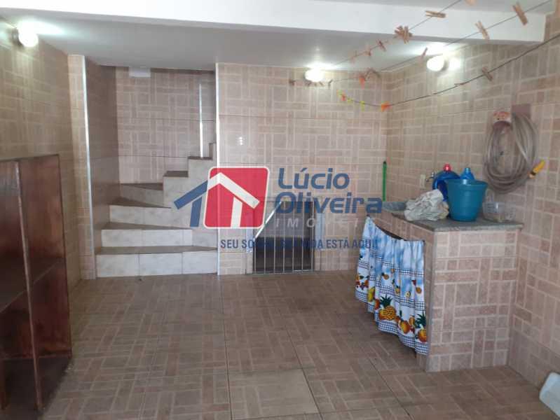 19- Cozinha - Casa Rua Severiano Monteiro,Vista Alegre, Rio de Janeiro, RJ À Venda, 2 Quartos, 100m² - VPCA20254 - 21