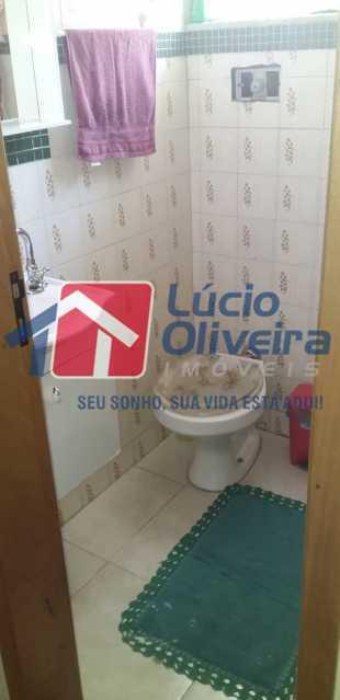 11 Banheiro social. - Apartamento à venda Rua Belisário Pena,Penha, Rio de Janeiro - R$ 300.000 - VPAP21301 - 11