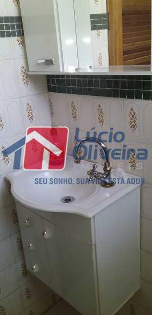 13 Banheiro social. - Apartamento à venda Rua Belisário Pena,Penha, Rio de Janeiro - R$ 300.000 - VPAP21301 - 13