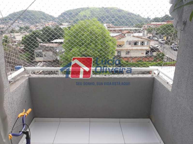 14 Varanda. - Apartamento à venda Rua Eugênio Gudin,Irajá, Rio de Janeiro - R$ 380.000 - VPAP21303 - 15