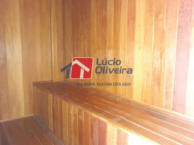 16 sauna. - Apartamento à venda Rua Eugênio Gudin,Irajá, Rio de Janeiro - R$ 380.000 - VPAP21303 - 17
