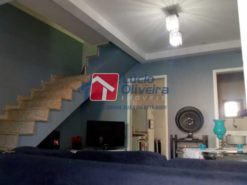 4 sala - Casa à venda Rua Pires de Carvalho,Maria da Graça, Rio de Janeiro - R$ 400.000 - VPCA20256 - 5