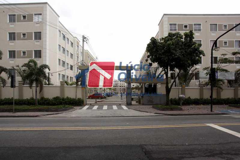 01 - Apartamento Rua Cordovil,Parada de Lucas, Rio de Janeiro, RJ Para Alugar, 2 Quartos, 48m² - VPAP21308 - 1