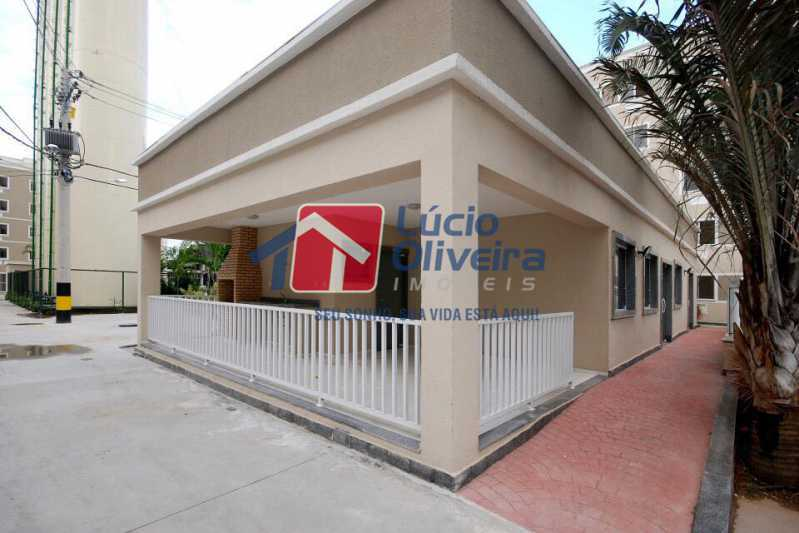 03 - Apartamento Rua Cordovil,Parada de Lucas, Rio de Janeiro, RJ Para Alugar, 2 Quartos, 48m² - VPAP21308 - 4