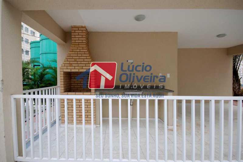 02 - Apartamento Rua Cordovil,Parada de Lucas, Rio de Janeiro, RJ Para Alugar, 2 Quartos, 48m² - VPAP21308 - 3