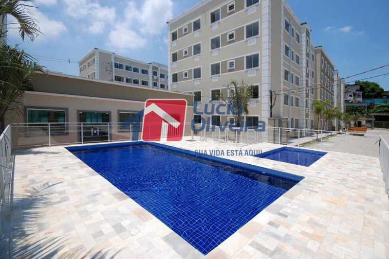 06 - Apartamento Rua Cordovil,Parada de Lucas, Rio de Janeiro, RJ Para Alugar, 2 Quartos, 48m² - VPAP21308 - 7