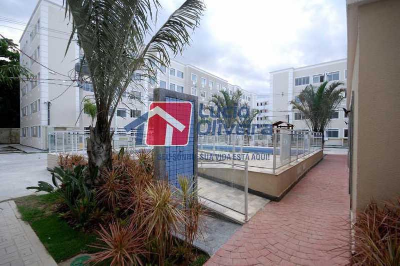 09 - Apartamento Rua Cordovil,Parada de Lucas, Rio de Janeiro, RJ Para Alugar, 2 Quartos, 48m² - VPAP21308 - 10