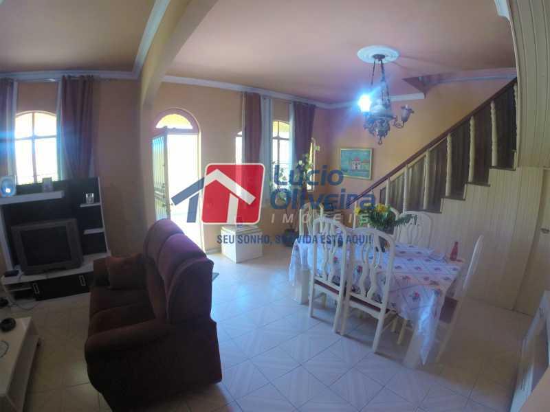 01 - Sala - Casa à venda Rua Alice Tibiriçá,Vila da Penha, Rio de Janeiro - R$ 1.500.000 - VPCA40058 - 1