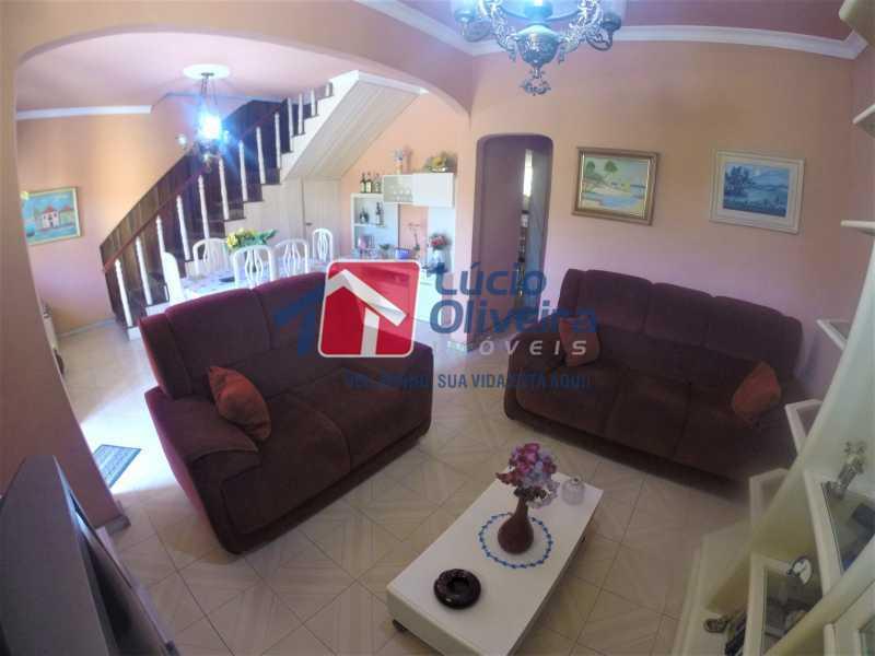 02 - Sala - Casa à venda Rua Alice Tibiriçá,Vila da Penha, Rio de Janeiro - R$ 1.500.000 - VPCA40058 - 3