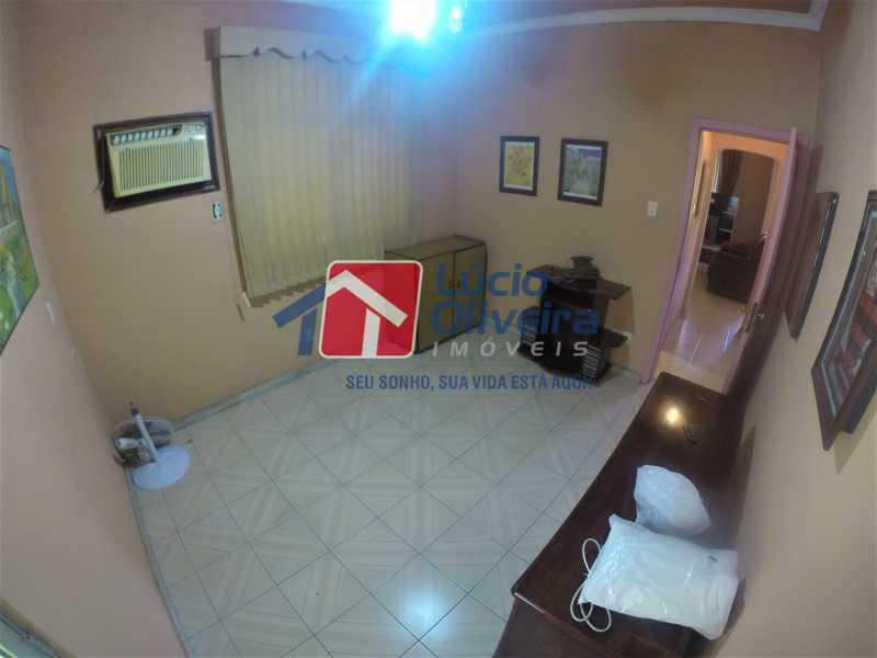 08 - Quarto Solteiro 1oar - Casa à venda Rua Alice Tibiriçá,Vila da Penha, Rio de Janeiro - R$ 1.500.000 - VPCA40058 - 6