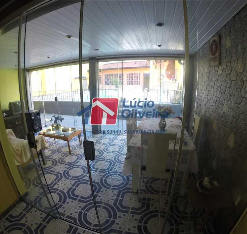 19 - Varanda - Casa à venda Rua Alice Tibiriçá,Vila da Penha, Rio de Janeiro - R$ 1.500.000 - VPCA40058 - 15